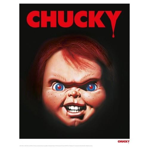 Lámina Ilustrada Chucky 35.56 X 27.94cm