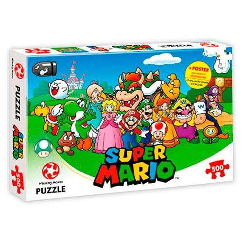 Puzle Mario Y Amigos 500 Piezas