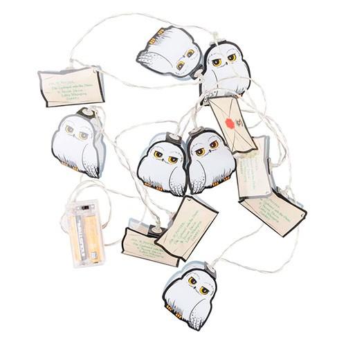 Guirnalda Luces Hedwig Y Carta Hogwarts 2d