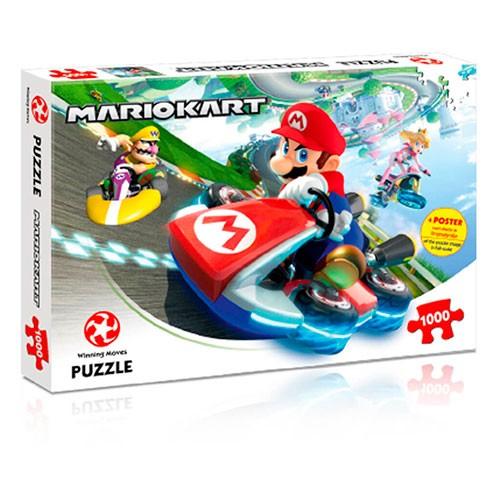 Puzle Mario Kart Carrrera 1000 Piezas