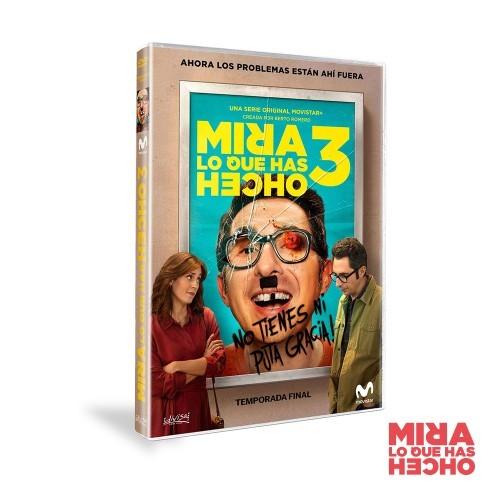 Dvd Temporada 3 Mira Lo Que Has Hecho