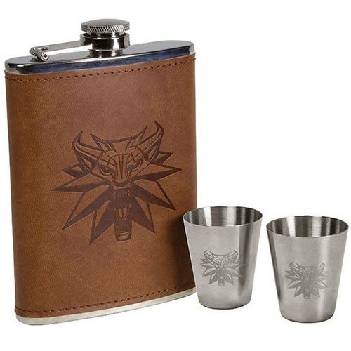The Witcher - Deluxe Flask Set