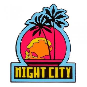Imán Emblema Ciudad De La Noche Cyberpunk 2077 5cm