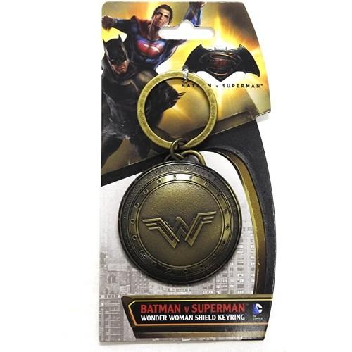 Llavero Escudo Wonder Woman 6cm