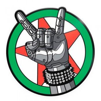 Pin Esmaltado Emblema Silverhand Cyberpunk 2077