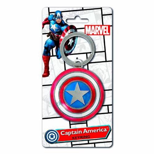 Llavero Escudo Capitán América 14cm