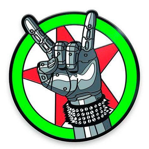 Imán Emblema Silverhand Cyberpunk 2077 5cm