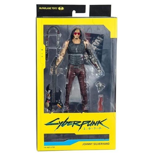 Figura De Acción Johnny Silverhand 18cm