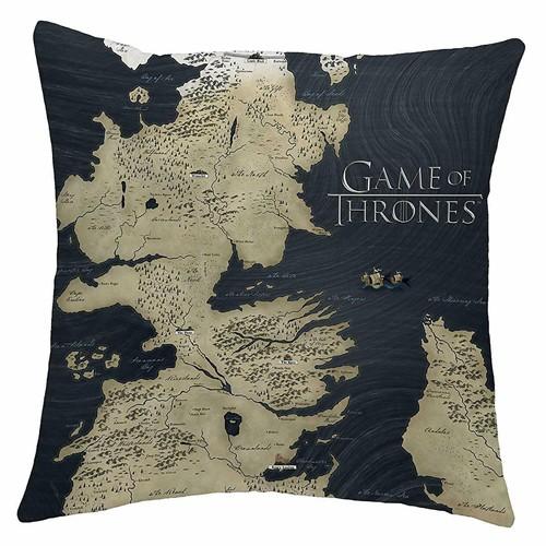 Cojín Mapa De Westeros 40x40cm