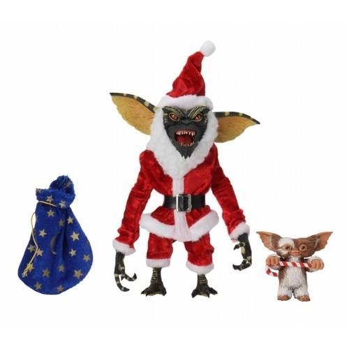 Figura De Acción Santa Stripe Y Gizmo 18 Cm