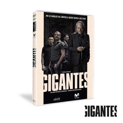 Dvd Temporada 1 Gigantes