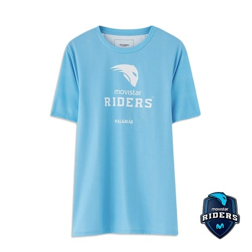 Camiseta Movistar Riders Mc Logo