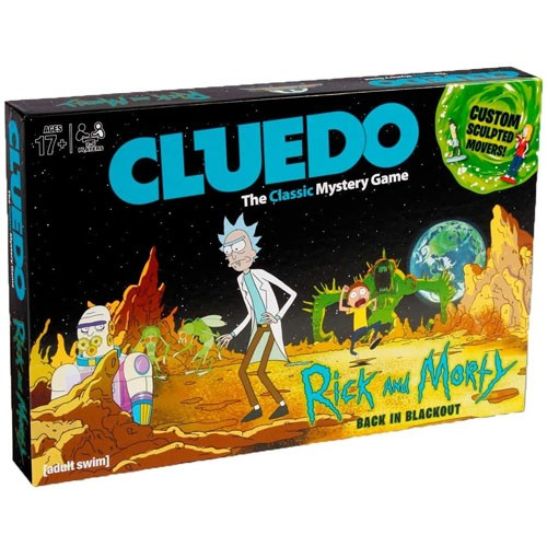 Juego De Mesa Cluedo Rick&morty