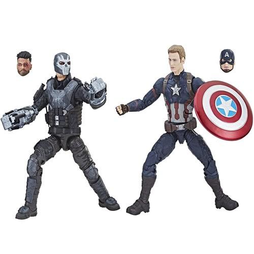 Figura Acción 2-pk Capitán América&crossbones 15cm