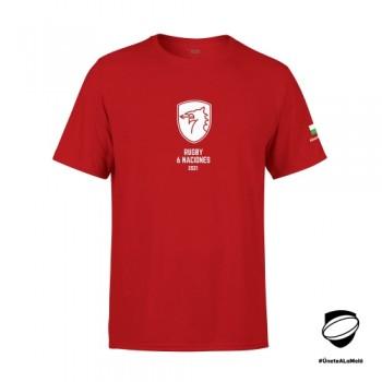 Camiseta 6 Naciones Gales