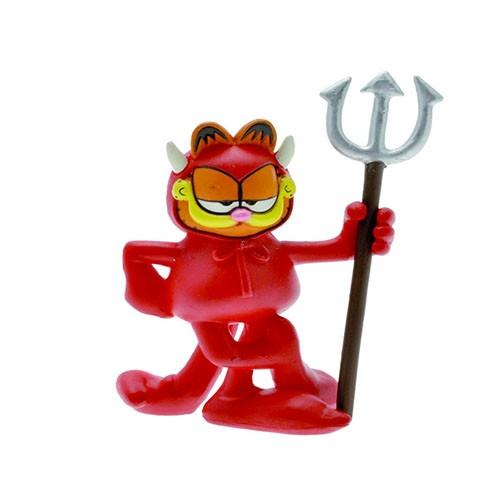 Llavero Garfield Demonio 4cm