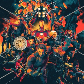 Disco Vinilo X3 Infinity War
