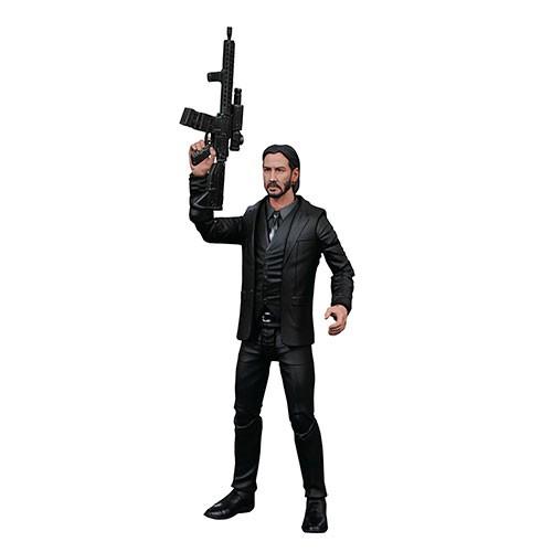 Figura De Acción John Wick Traje Negro 18cm