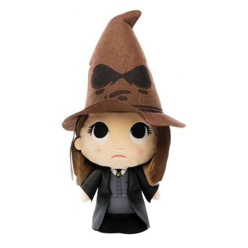 Peluche Hermione Con Sombrero Seleccionador 18cm