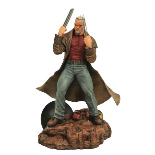 Estatua Viejo Logan 25cm