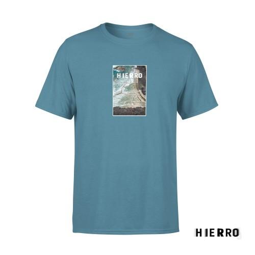 Camiseta Unisex Hierro Azul Talla