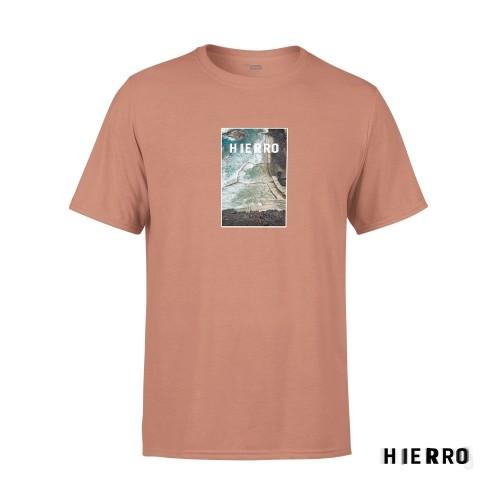 Camiseta Unisex Hierro Salmón Talla