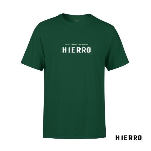 Camiseta Unisex Hierro Verde Talla