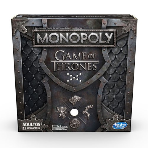 Juego De Mesa Monopoly Juego De Tronos Ed. Music