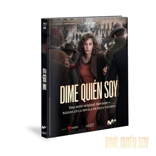 Blu-ray Y Libro Dime Quién Soy