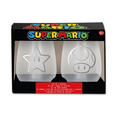 Set Vasos Super Mario 510ml