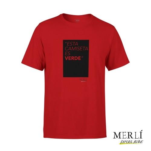 Camiseta Merlí Unisex Esta Camiseta Es Verde