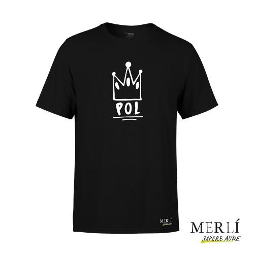 Camiseta Merlí Unisex Negra Pol