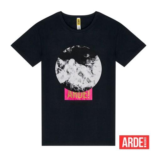 Camiseta Arde Madrid Humo