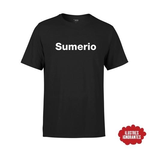 Camiseta Sumerio Javier Cansado