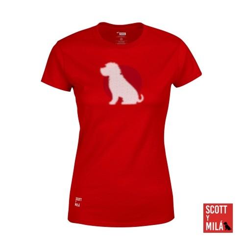 Camiseta Mujer Scott
