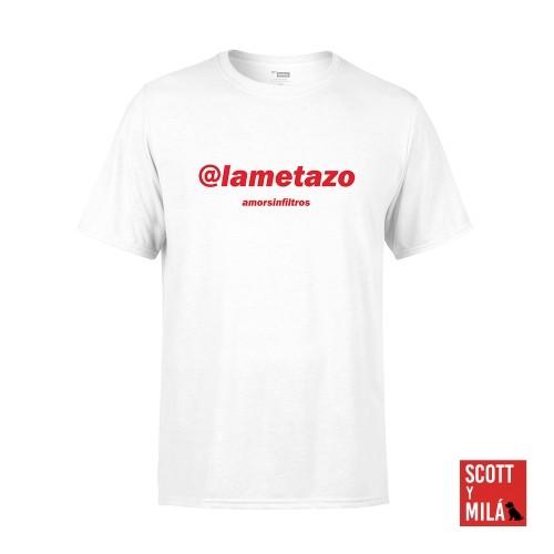 Camiseta Unisex Blanca Lametazo