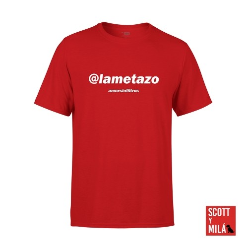 Camiseta Unisex Roja Lametazo