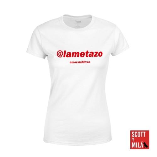 Camiseta Mujer Blanca Lametazo