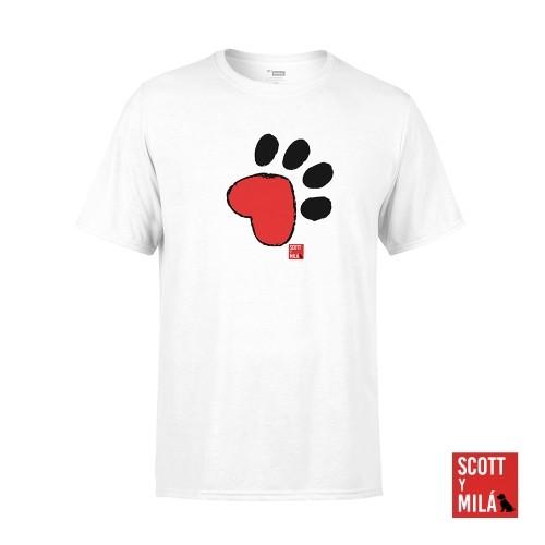 Camiseta Unisex Cami Huella