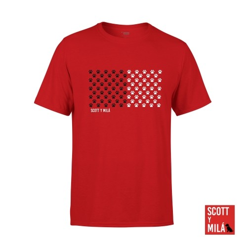 Camiseta Unisex Huellas