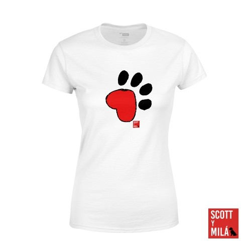 Camiseta Mujer Cami Huella