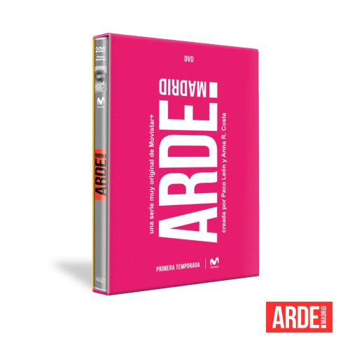 Dvd Serie Completa Arde Madrid
