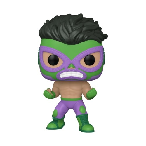 Figura Hulk Lucha Libre 9cm