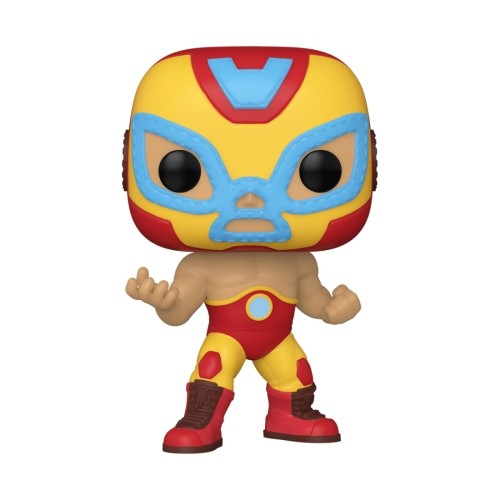 Figura Iron Man Lucha Libre 9cm