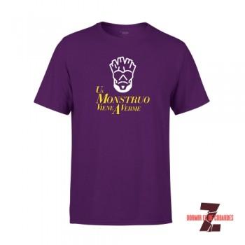 Camiseta Unisex Un Monstruo Viene A Verme