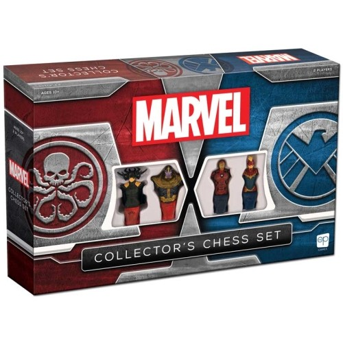 Set Ajedrez Coleccionista Marvel