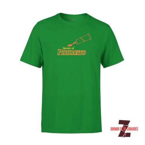 Camiseta Unisex Picorcito Verde Kelly