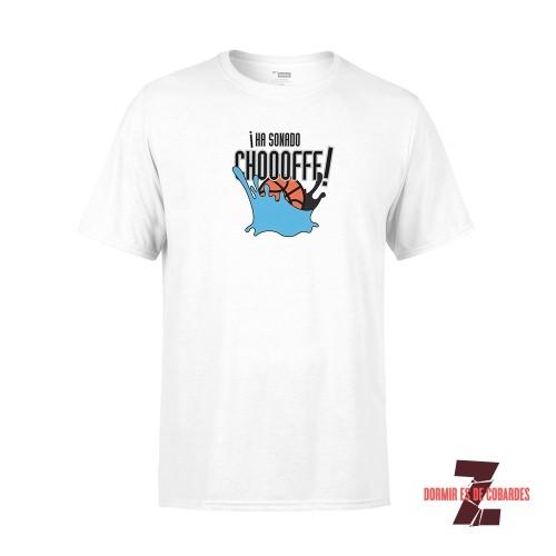 Camiseta Unisex Ha Sonado Chof Blanca