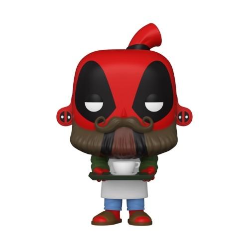 Figura Deadpool Barista 9cm