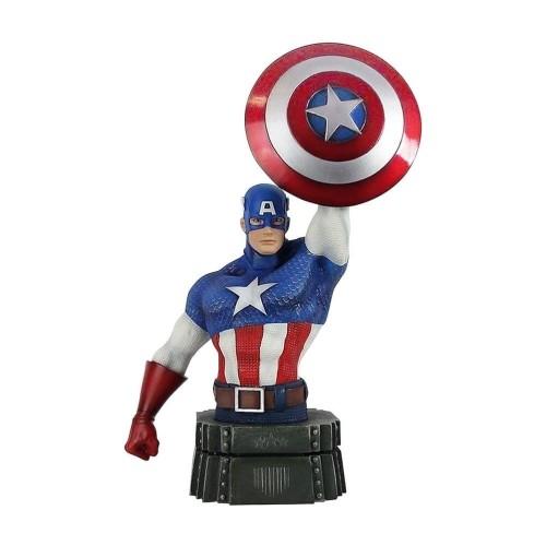 Busto Capitán América 26cm